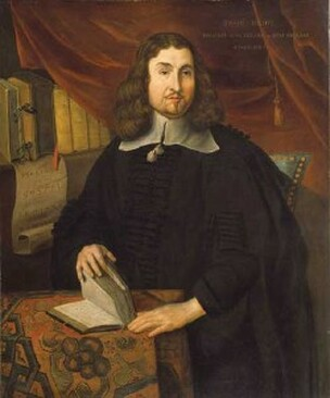 Reverend John Eliot (alleged), artist unknown. National Portrait Gallery. Eliot is mentioned in